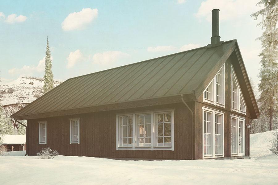 Fjällhus Björnänge