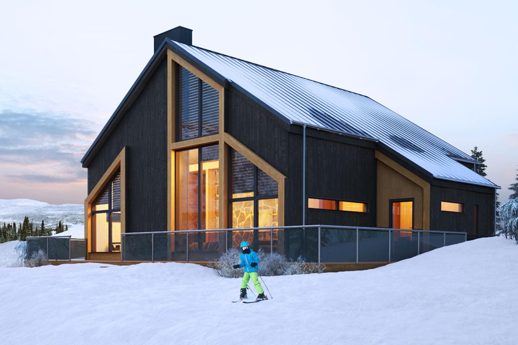 Fjällhus Byggmark Lodge